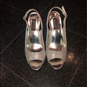 Camille LaVie Silver Shoes